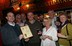 Receiving Camra Award